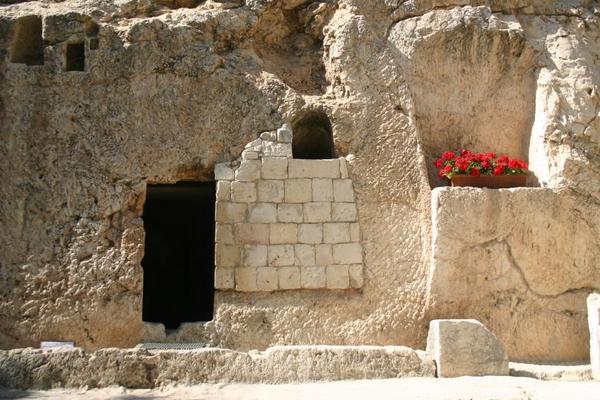P ske   Jesus grav