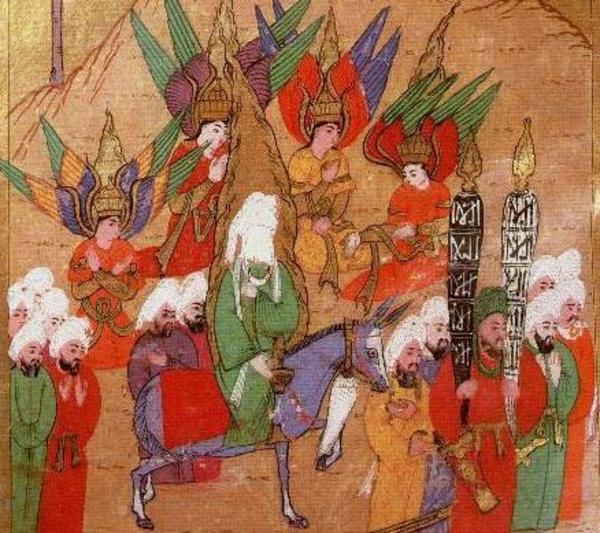 Mohammed 4Engel  Tyrkiet  1595   Wikimedia Commons